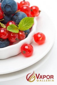A deliciously bright mix of pomegranate, blueberry, and cream!